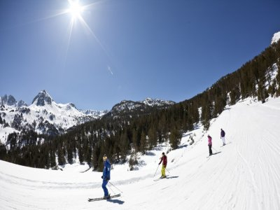2h ski course in Catalonian Pyrenees