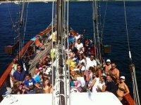 Paseos en barco en Madrid