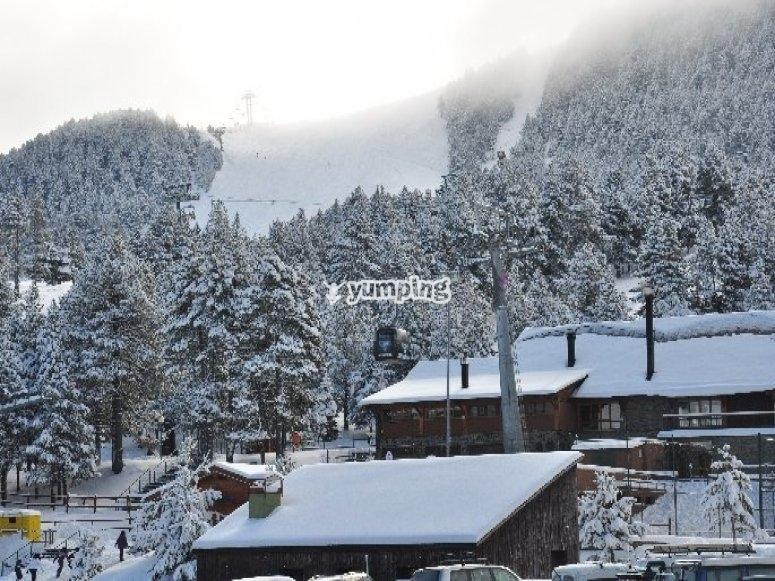 Skiing lessons in La Molina