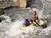 Enjoy the adrenaline of the rapids