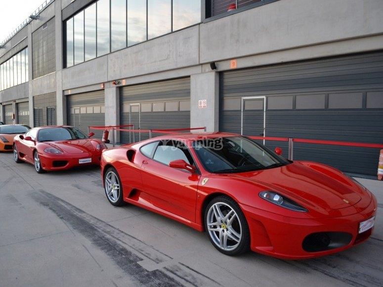Ferraris preparados para la conduccion