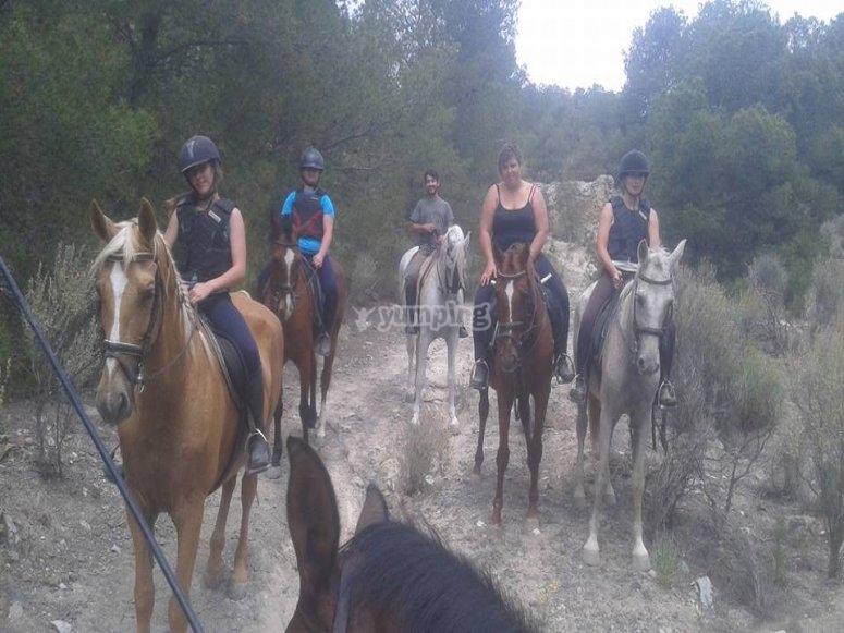 Equitazione a Sax