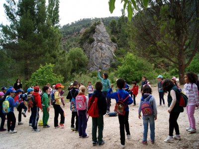 Hiking trip + games in Sierra de Albacete, groups