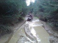 Passing through the mud