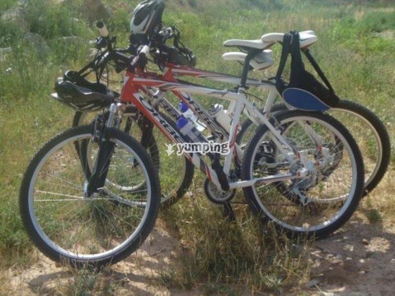 准备好自行车