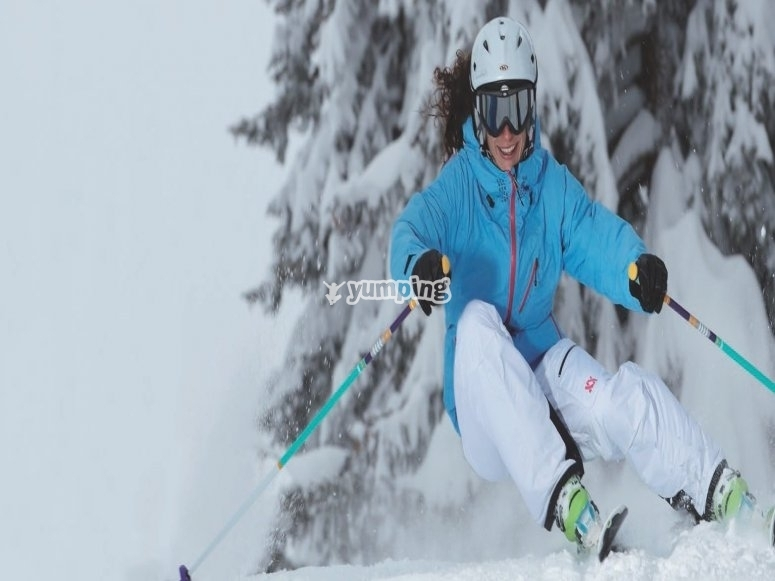 学习最好的滑雪技术