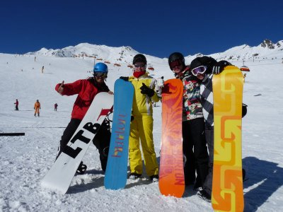 Snowboard course Catalonian Pyrenee 5h