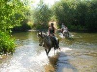 Ruta a caballo en Huerta, especial regalo Navidad