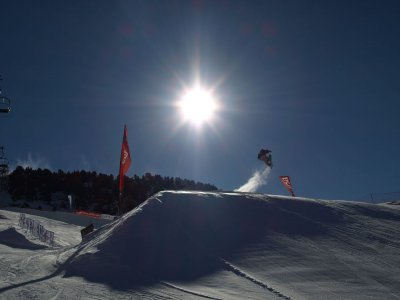 Snowboarding course La Molina at Christmas 12h