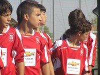 Jugando a futbol