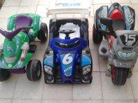 Vehiculos electricos para menores de 5