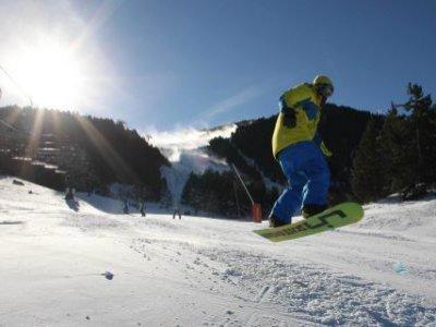 Curso de snowboard en la Molina, Fin de año 3 días