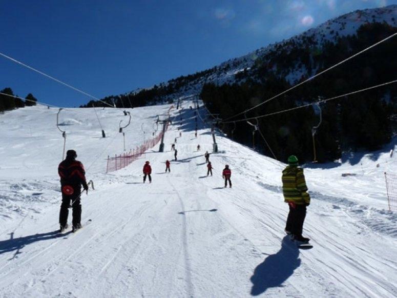 snowboard en masella