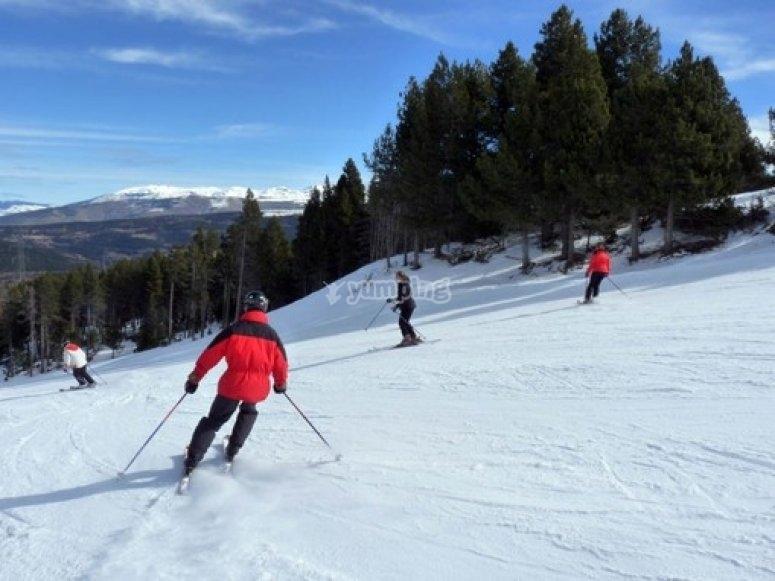 滑雪课程3星期六