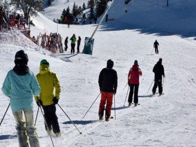 马塞拉3个星期六的滑雪课程,9个小时