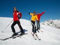 Saturday skiing