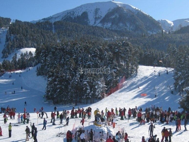 estacion de esqui la Masella