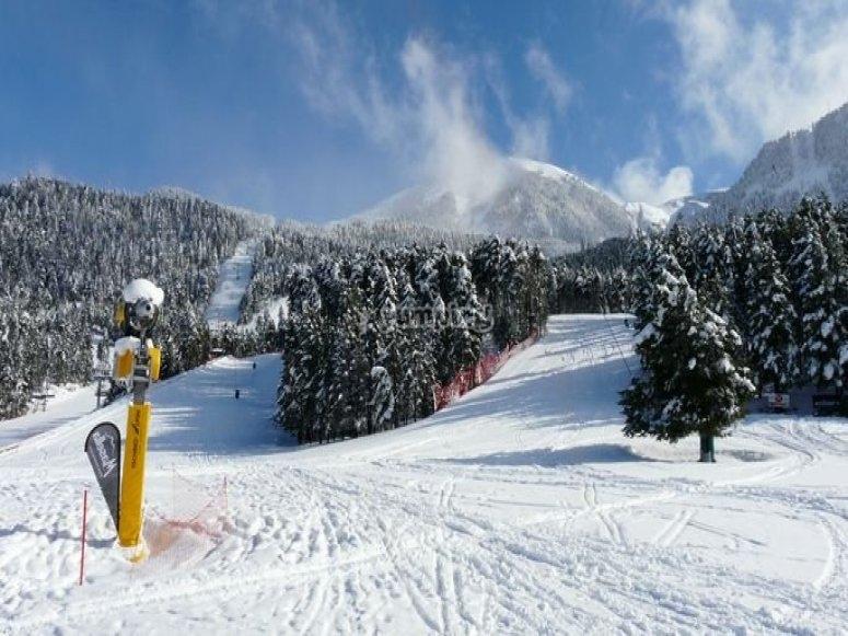 estacion esqui de Masella