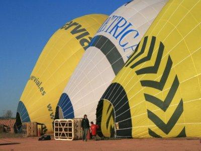 气球飞行,巴塞罗那,特别的圣诞礼物