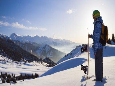 滑雪板课程为6个星期日,La Molina,下午6点。