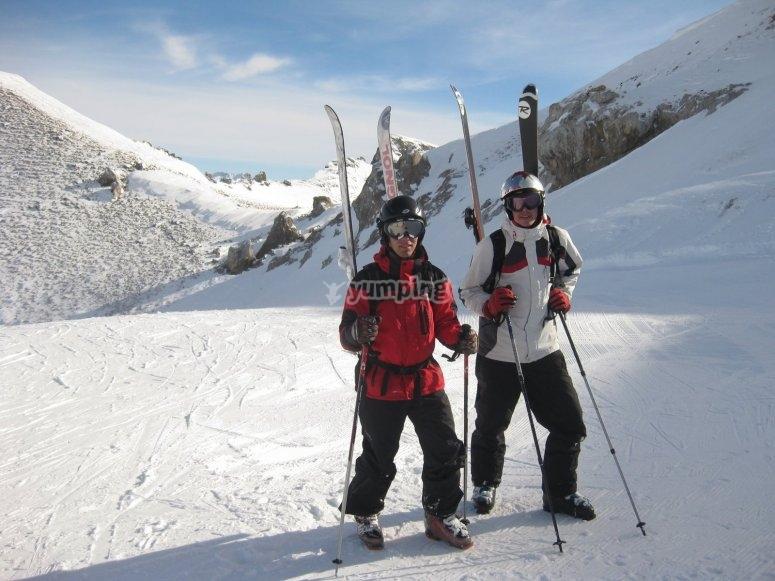 curso de esqui en Masella