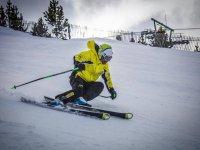 Esquiando en La Masella