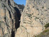 Practice climbing in Jaén