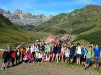 Campamento en el Pirineo de Huesca