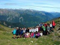 Excursion a las cimas de Huesca