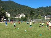 Entrenamiento de futbol