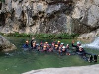 Canyoning in Jaén