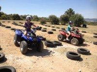 Carreras en circuito de quads