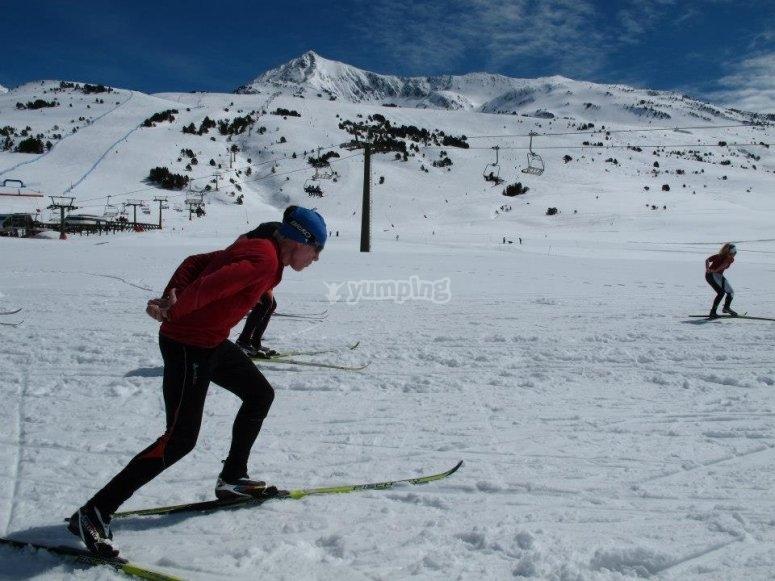 开始越野滑雪的冒险