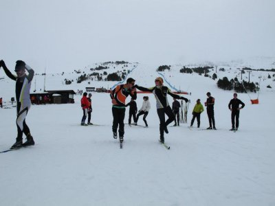 Nordic Skiing for Beginners Llanos del Hospital 1h