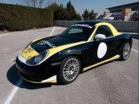 Porsche en la pista