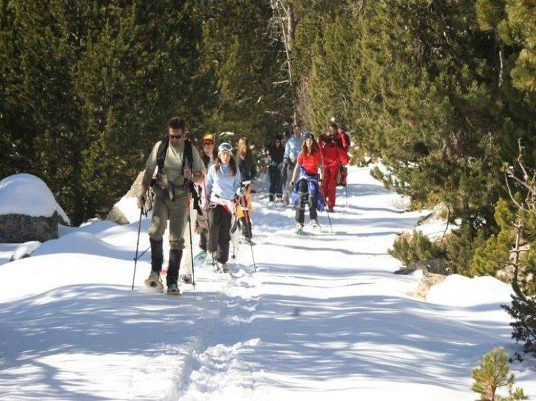 Escursione nella neve