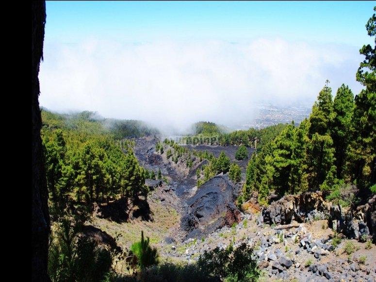 El volcan de san juan