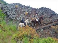 Ruta a caballo por Volcán San Juan por 2h30