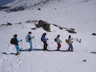 Excursión raquetas de nieve Navacerrada 3 horas