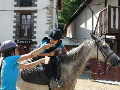 Clase de equitación en Itziar Guipúzcoa 1 hora