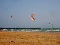 Kitesurf en Punta Umbría