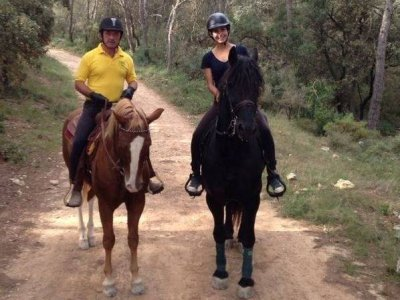 1 day in Christmas Horse Riding Camp, Olerdola, 8h