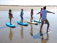 Curso de Surf en Punta Umbría