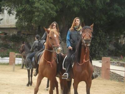 在Santa Susanna骑行1小时