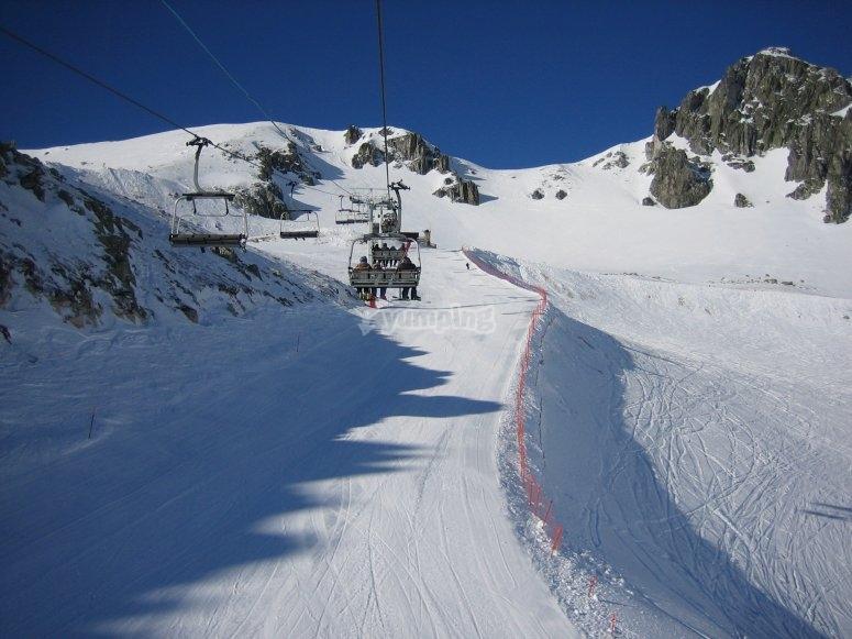 Estacion de Esqui de San Isidro