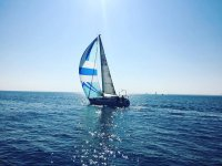 vela en el mar