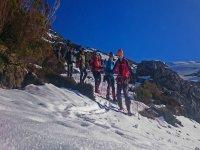 Ruta en Raquetas de Nieve Fuentes de Invierno