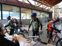 自行车控制站