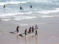 Classe di surf a Foz