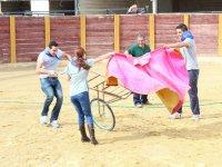 Capea con toro inofensivo en Granada